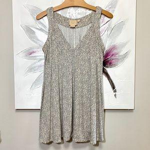 VANESSA VIRGINIA Sleeveless Tunic/Dress  Size S